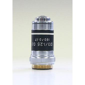 Objektiv, achromatisch 100x/Öl/1,25 gefedert