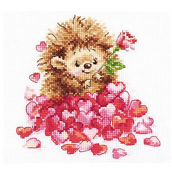 Alisa Cross Stitch Kit - In Love