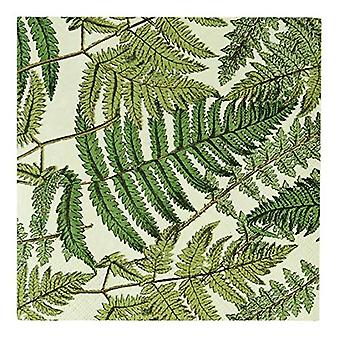 Fern Paper Party Napkins x 20 Party Tableware
