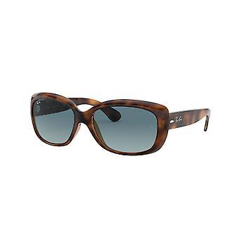 Ray-Ban Jackie OHH RB4101 642/3M Havana/Blue Gradient Grey Sunglasses