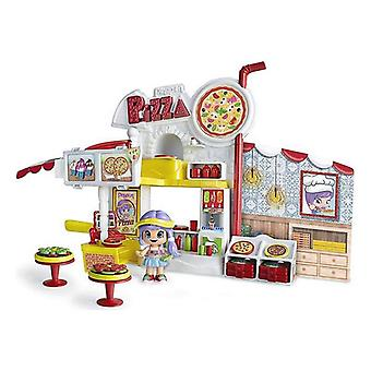 Playset Pinypon Mix Is Max Pizza Restaurant Famosa
