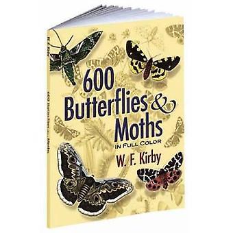 600 mariposas y polillas a todo color de W F Kirby