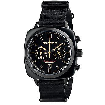 Briston Clubmaster Sport Quartz Chronograph Mens Watch 18142.PBAM.BS.4.NB