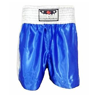 Morgan Boxing Shorts Blue