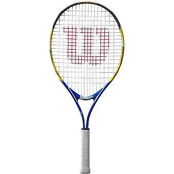 Wilson US Open Junior Tennis Racket Racquet White/Blue/Red (No Headcover) - 25
