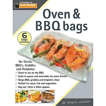 Toastabags Oven & BBQ Bags (Pack of 6)