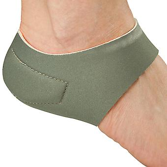 Steady Step Heel Hugger Therapeutic Stabilizer with Polar Ice Gel Pads - Gray