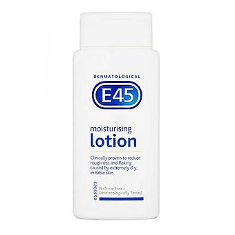 E45 Dermatological Moisturising Lotion 200ml Perfume Free
