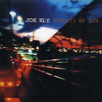 Joe Ely - Streets of Sin [CD] USA import