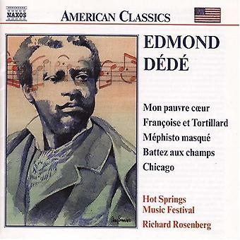 E. Dede - Edmond D D : Orchestral Works [CD] USA import