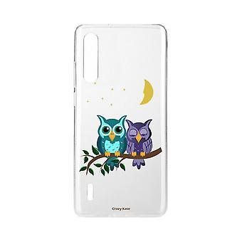 Hull For Xiaomi Mi 9 Myke Lite Ugler I Moonlight