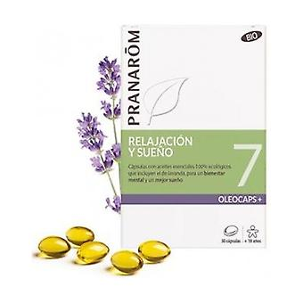 Oleocaps 7 - Relaxation and Sleep Bio 30 capsules