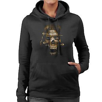 Alchemie dood fetish vrouwen ' s Hooded Sweatshirt