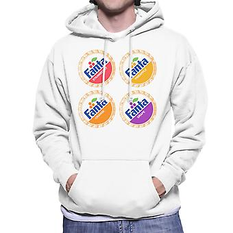 Fanta retro jaren 1980 Bottlecaps mannen Hooded Sweatshirt