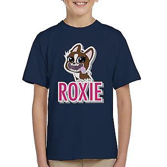 Littlest Pet Shop Roxie Cut Out Letters Kid's T-Shirt