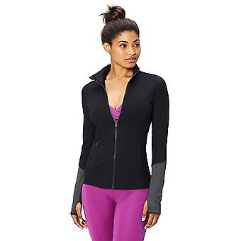 Core 10 Women's Icon Series - The Ballerina Full-Zip Jacket, black, Medium