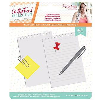 Crafter's Companion Crafty Fun Stylish Stationery Dies
