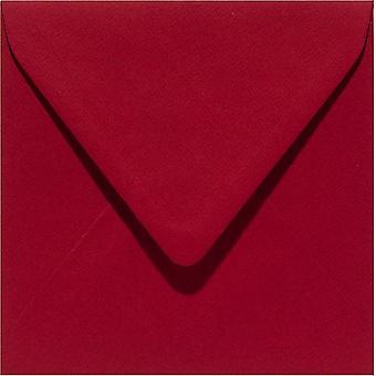 Papicolor 6X Envelope 140X140mm Rouge Noël