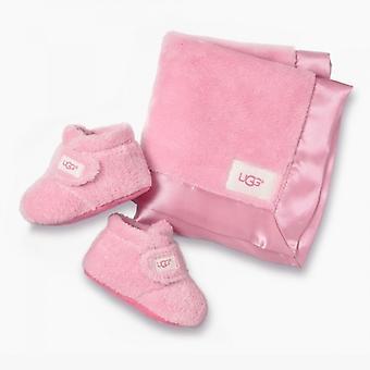 UGG Bixbee And Lovey Infants Gift Set Bubblegum