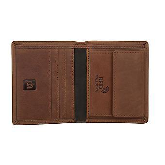 Primehide Mens Leather Card Holder Wallet RFID Blocking Gents Notecase 4032