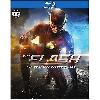 Flash: The Complete Second Season [Blu-ray] USA import