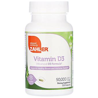 Zahler, vitamine D3, 50.000 IE, 120 capsules