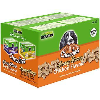 Chewdles Gravy Bones - Poulet - 10kg