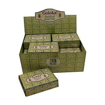 Goloka Patchouli Incense Cones 10 units