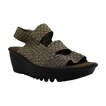 बर्नी मेव महिला ओएसिस कपड़े खुले टो विशेष अवसर मंच सैंडल
