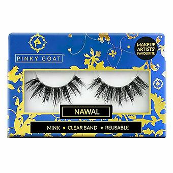 Pinky Goat Reusable 3D Faux Mink Eyelashes - Nawal Lash for Ultra Glam Occasions
