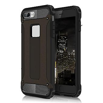 Armor Shell for Apple iPhone 8 Plus 8+ Black Protection Case TPU