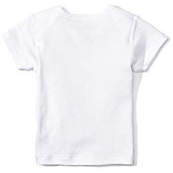 Moon and Back Baby Set of 5 Organic Lap-Neck Crew Short-Sleeve Tee Shirts, Gr...
