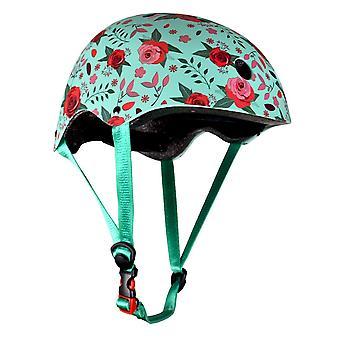 Kiddimoto Helmet - Matt Floral