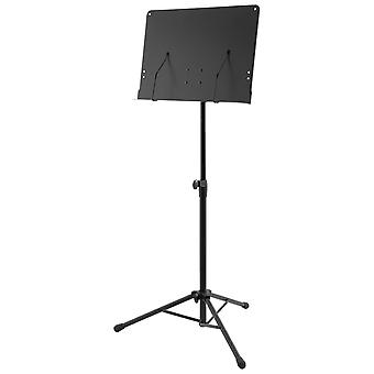 Orchestral Music Stand by World Rhythm - Sheet Music Holder with Page