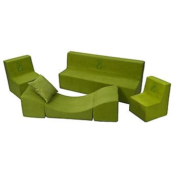 Toddler furniture playt extended green