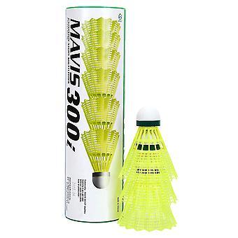 Yonex Mavis 300 Shuttles (Tube of 6) Yellow