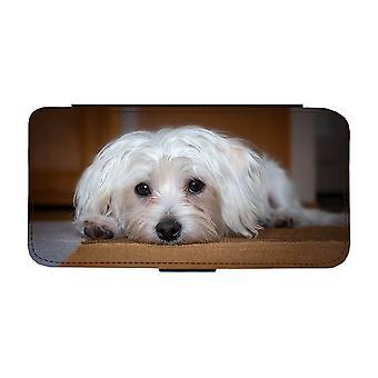Hund Malteser Samsung Galaxy S9 Plånboksfodral