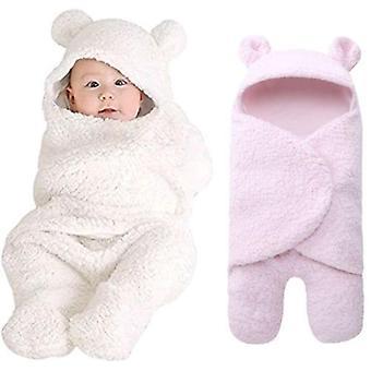طفل حديث الولادة طفل فتاة swaddle النوم القطن غطاء غطاء