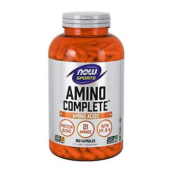 Now Foods Amino Complete, 360 Caps