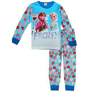 Tyttöjen vaatteet, Mikki Minnie Print Pitkähihainen pyjamasetti