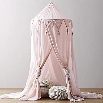Lasten vauvan sänky katos verkko vuodesohva hyttysverkko, verho vuodevaatteet kupoli teltta
