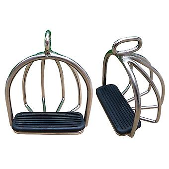 Horse Riding Racing Equipment, Stirrup With Rubber Pad ,equestrian Saddle