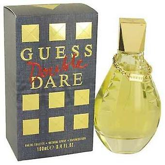 Guess Double Dare By Guess Eau De Toilette Spray 3.4 Oz (women) V728-533638