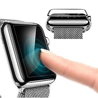 Strapsco apple watch black edge screen protector