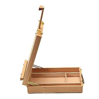 Artist Easel Art Drawing Paint Supply Wood Table Retractable Box Art Supplies