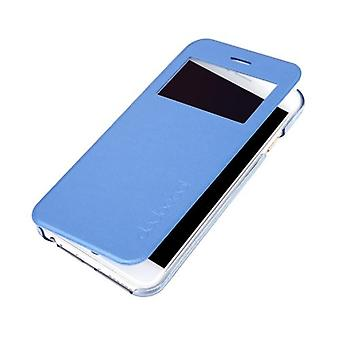 dodocool Flip PU Leather Ultra Slim Case Cover Single View Window for 4.7