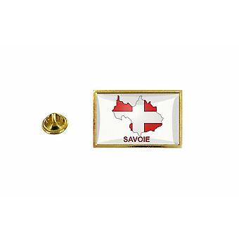 pinheiro emblema pinheiro pin-apos;s bandeira país mapa departamento Savoy r2
