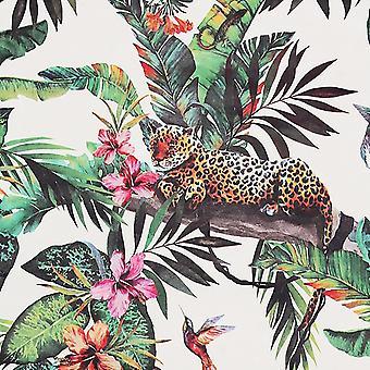 Arthouse Tier Dschungel weiß Multi