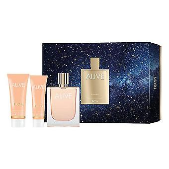 Mujeres's Perfume Set Vivo Hugo Boss EDP (3 uds)