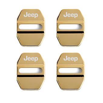 Pokrywa blokady drzwi samochodowych Auto Emblems For Jeep Grand Cherokee Commander Renegade
